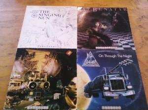 Vinyl Tarot, the working tarot deck out of records